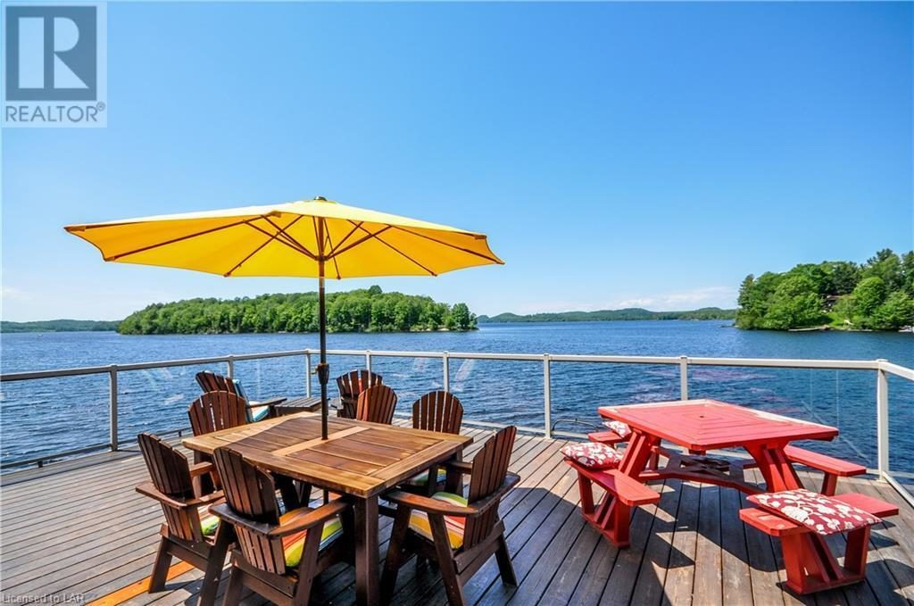 Breathtaking Sunsets & Lake Views in Huntsville Luxury Cottage