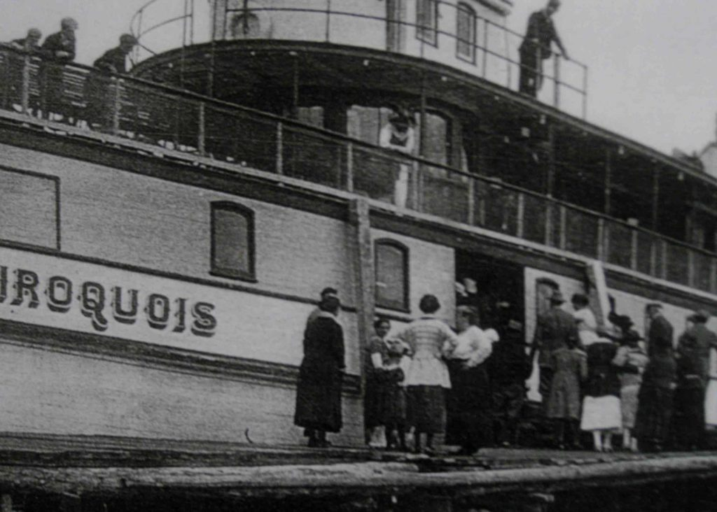 Historic Iriquois photo from the Dorset Heritage Museum