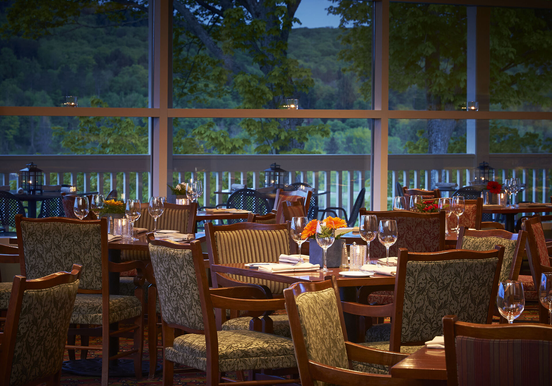 Top Huntsville Restaurants include Eclipse at Deerhurst Resort